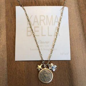 """NWat Karma Bella Cancer Necklace 16""""-19"""""""